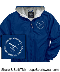 18.  Nylon Shell with Sweatshirt Lining Jacket Design Zoom
