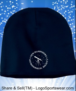 36.  Logo Knit Cap Design Zoom